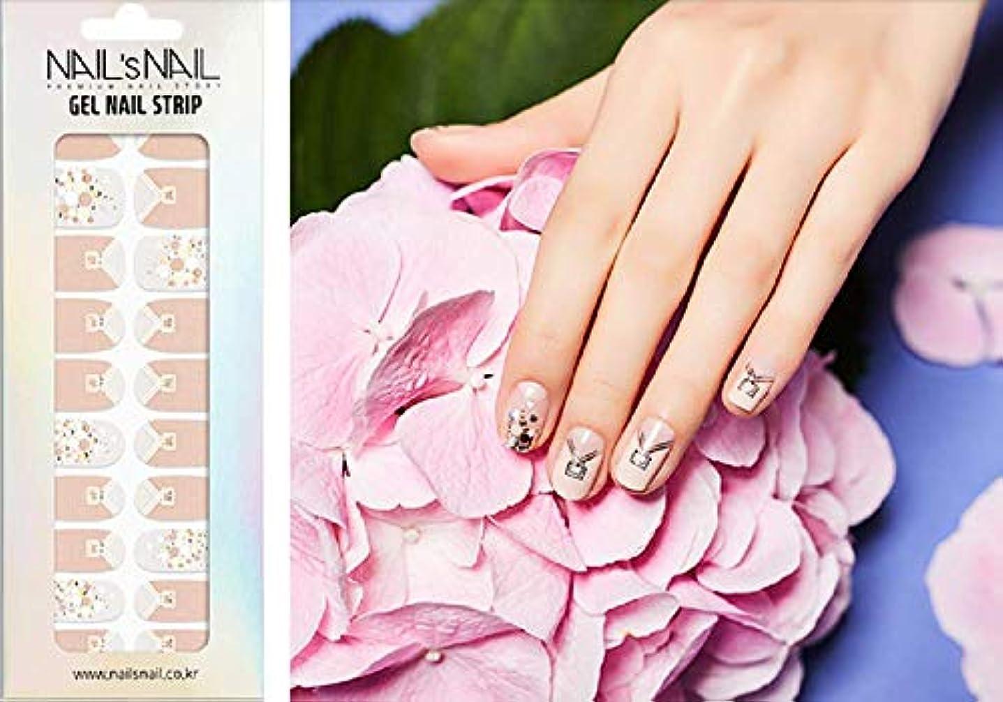 告発誤解する成り立つ\貼るジェルネイル/Nail's Nail(ネイルスネイル) ジェルネイルストリップ 58