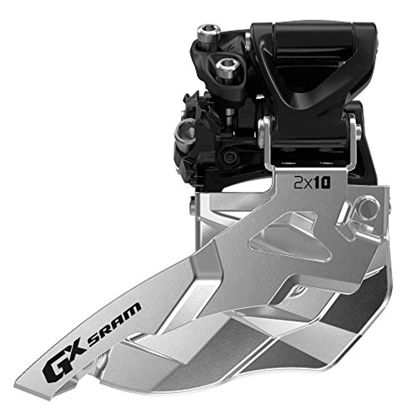 プレミアム鉄道駅受信SRAM FD GX 2x10 Bottm Pull Mid Direct 34T
