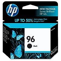 HP 96 Black Original Genuine Ink Cartridge (C8767WN#140) 860 Pages [並行輸入品]