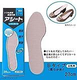 紙製中敷 アシートBタイプ 50足セット 23cm(女性用)