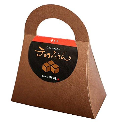 伊豆河童 チョコろてん ダブルチョコ味 (カカオ入り角心太95g チョコソース12.5g×2 珈琲フレッシュ5g)1個 冬ギフト 向け