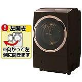 東芝 11.0kg ドラム式洗濯乾燥機【左開き】グレインブラウンTOSHIBA ZABOON TW-117X6L-T