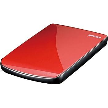 BUFFALO ポータブルハードディスク レッド 320GB HD-PE320U2-RD/N [フラストレーションフリーパッケージ(FFP)]