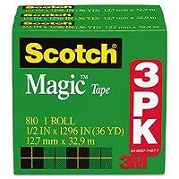 """マジックテープ詰め替え、1/ 2"""" """" X 1296""""、"""" 3/ Pack , Sold as 3ロール"""