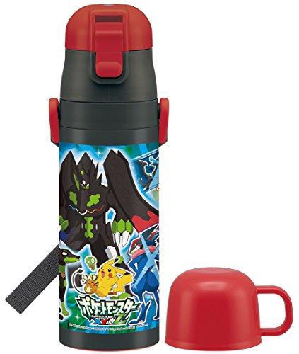 スケーター 超軽量 2WAY ステンレスボトル 水筒 コップ...