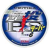 ユニチカ(UNITIKA) ライン キャスライン スーパーPE投PSテーパー付 213m 2~~6号 25m毎に4色分け×2+13m ~