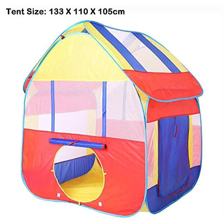 Taka Co トンネルテント 3イン1 セット 折りたたみ式 子供用 トンネル 遊び用テント ベビーオーシャンボール プール 子供用ゲーム おもちゃ プレイハウス セット 2