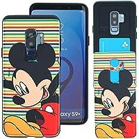 c8210ffaac Galaxy S9 Plus ケース/Disney Mickey Mouse ディズニー ミッキーマウス カード スロット ダブル バンパー ケース