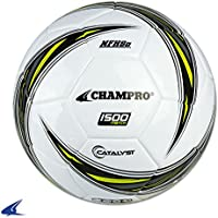 Champroスポーツthermal-bondedサッカーボール「1500」、Optic Yellow, 4