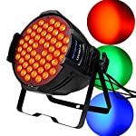 BETOPPER ステージライト 舞台照明 LED 回転 54X3W RGB 54LED DMX512 音声起動 スポットライト 照明ライト ムービングライト ディスコライト パーライト 照明/演出/舞台/ディスコ/パーティー/KTV/結婚式/クラブ/バー (LPC007-H-JP)