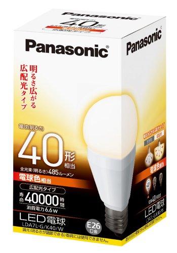 LED電球 一般電球タイプ 広配光タイプ4 LDA7LGK40W 箱1個