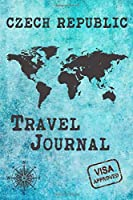 Czech Republic Travel Journal: Notebook 120 Pages 6x9 Inches - Vacation Trip Planner Travel Diary Farewell Gift Holiday Planner