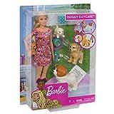 Barbie Doggy Daycare邃「 Doll & Pets Playset