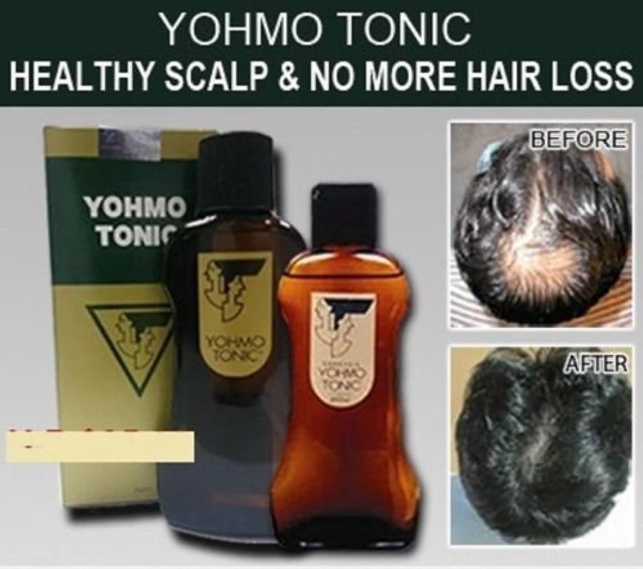 許さない甘味ホールYOHMO 強壮剤200ml 使用する育毛剤外部日本脱毛強壮剤