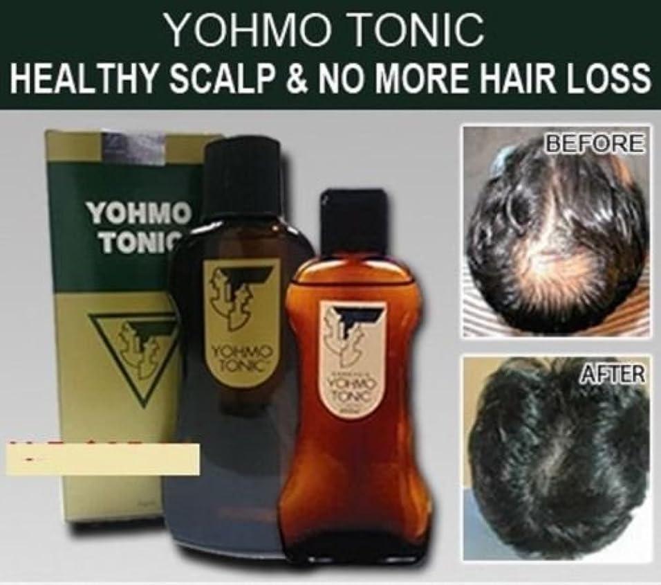 実験忌まわしい化石YOHMO 強壮剤200ml 使用する育毛剤外部日本脱毛強壮剤
