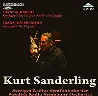 Haydn Symphony No.39. Schubert Symphony No.9 In C. (Swedish Radio Orchestra/ Kurt Sanderling. Rec by VARIOUS ARTISTS (2011-07-28)