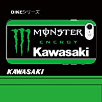 iPhone 5 / 5S / 5SE / 6 / 6S / 6Plus / 6S Plus / 7/7 Plus 用 ハードカバー/ケース/バイク/kawasaki/かっこいい/monster (iPhoneXS)