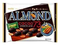 名糖産業 アーモンド カカオ73 チョコレート 19粒