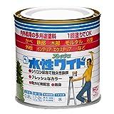 ニッペ 多用途塗料 水性フレッシュワイド つやなしブラック 0.2L