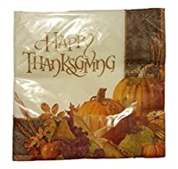 November Harvest Happy Thanksgiving Luncheon Napkins 16ct. by Party Impressions