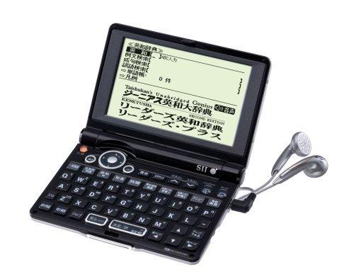 SEIKO IC DICTIONARY SR-ME7200 電子辞書 (英語/ビジネスモデル 25コンテンツ オックスフォード英英辞典4冊/数独パズル収録 音声対応 コンパクトモデル)