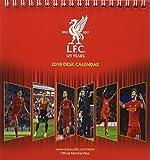 Liverpool F.C. Official Desk Easel 2018 Calendar - Month To View Desk Format (Desk Easel Calendar 2018)