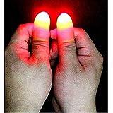 リタプロショップ? LEDフィンガーライト 光る 親指 2個セット パーティーグッズ イベント 手品