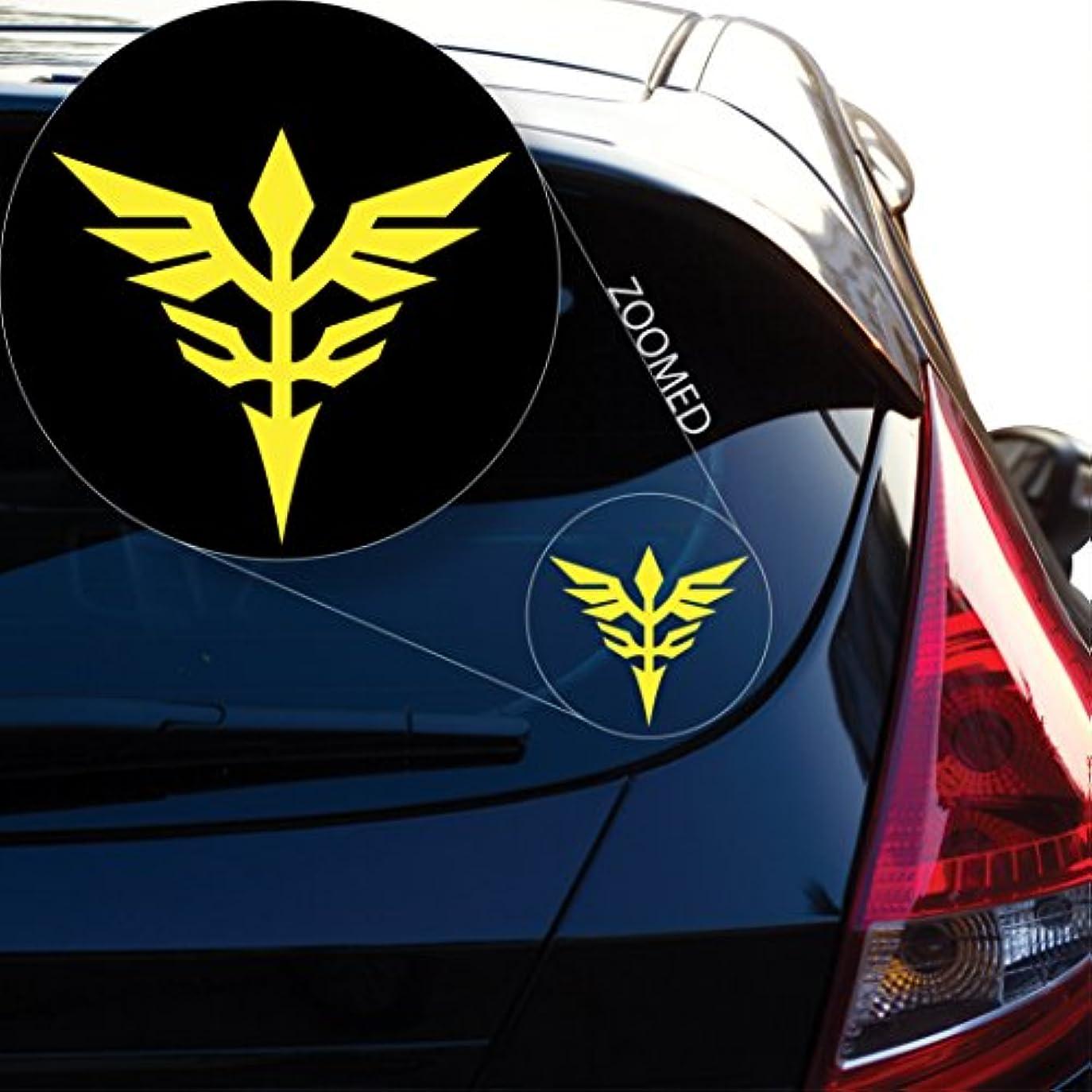 敗北喉頭団結するNeo Zeon Gundamデカールステッカー車ウィンドウ、Laptop and More。# 814 4