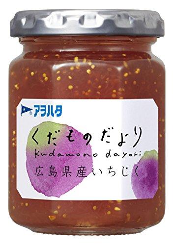 アヲハタ くだものだより 広島県産いちじく 155g