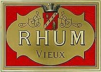 Rhum Vieux・ラムラベル 24 x 36 Giclee Print LANT-27042-24x36