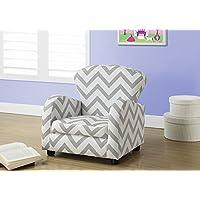 Monarch Juvenile Chair Grey/White 【You&Me】 [並行輸入品]