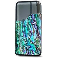 Skin Decal Vinyl Wrap for Suorin Air Kit Vape skins stickers cover/Abalone Ripples Green Blue Purple Shells [並行輸入品]