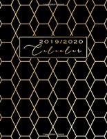 Calendar 2020: Black and Gold Design | December 2019, January 2020 - December 2020 | Weekly Planner 2020 large | Monthly Calendar | Personal Planner and Appointment Book | Goal Setting 2020 | Personal Bucket List 2020