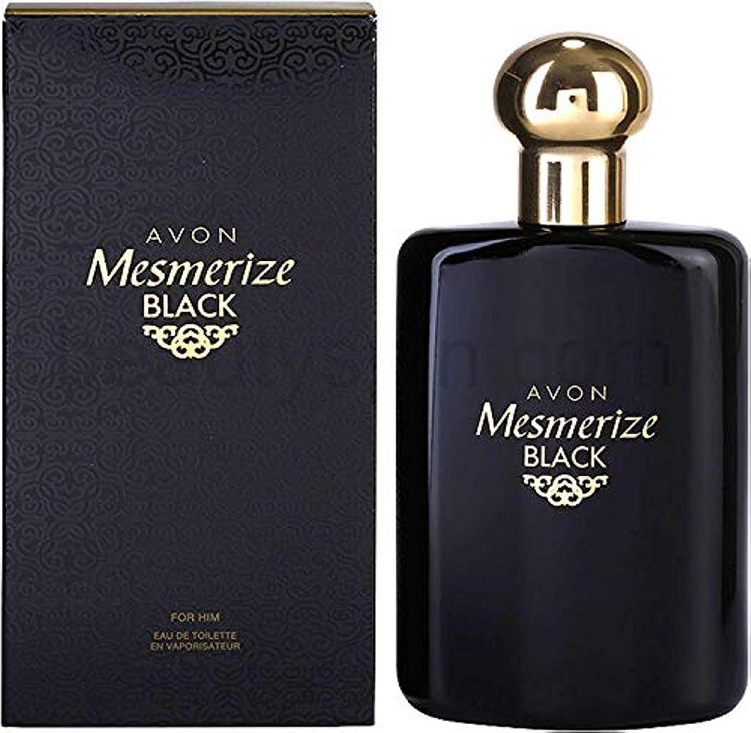 船上株式会社印をつけるAVON Mesmerize Black For Him Eau de Toilette 100ml