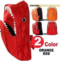 サメデザイン・リュックサック・SHARK BAG《RED》