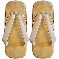 男性用 草履(ぞうり) 白鼻緒 雨用 時雨(しぐれ)履き ウレタン底 L寸/天部分:24.5cm