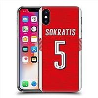 ARSENAL FOOTBALL CLUB アーセナルFC - Sokratis ハード case/iPhoneケース 【公式/オフィシャル】