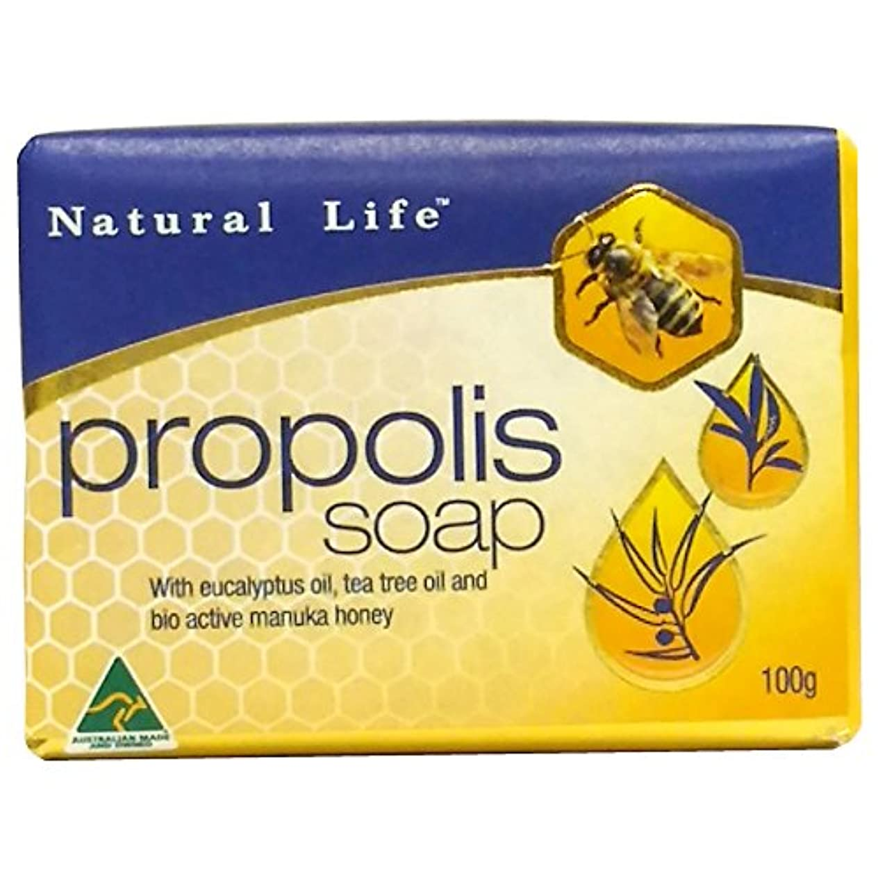 プロポリス&マヌカハニー 石鹸 100g オーストラリア産 [海外直送品]