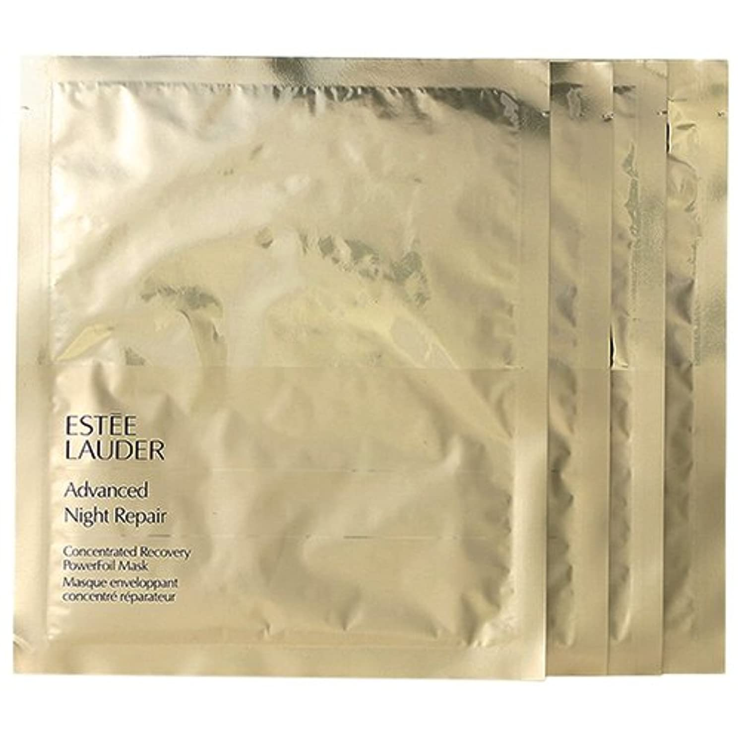 単なるリンス飽和するエスティローダー(ESTEE LAUDER) アドバンス ナイト リペア パワーフォイル マスク 4枚入り[並行輸入品]