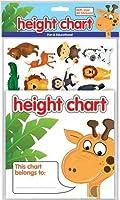 - - - - - - -子供の高さチャートwith over 40ステッカー。Fun &教育by郡ひな形