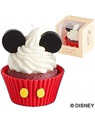 カメヤマキャンドル( kameyama candle ) ディズニーカップケーキキャンドル 「ミッキー」