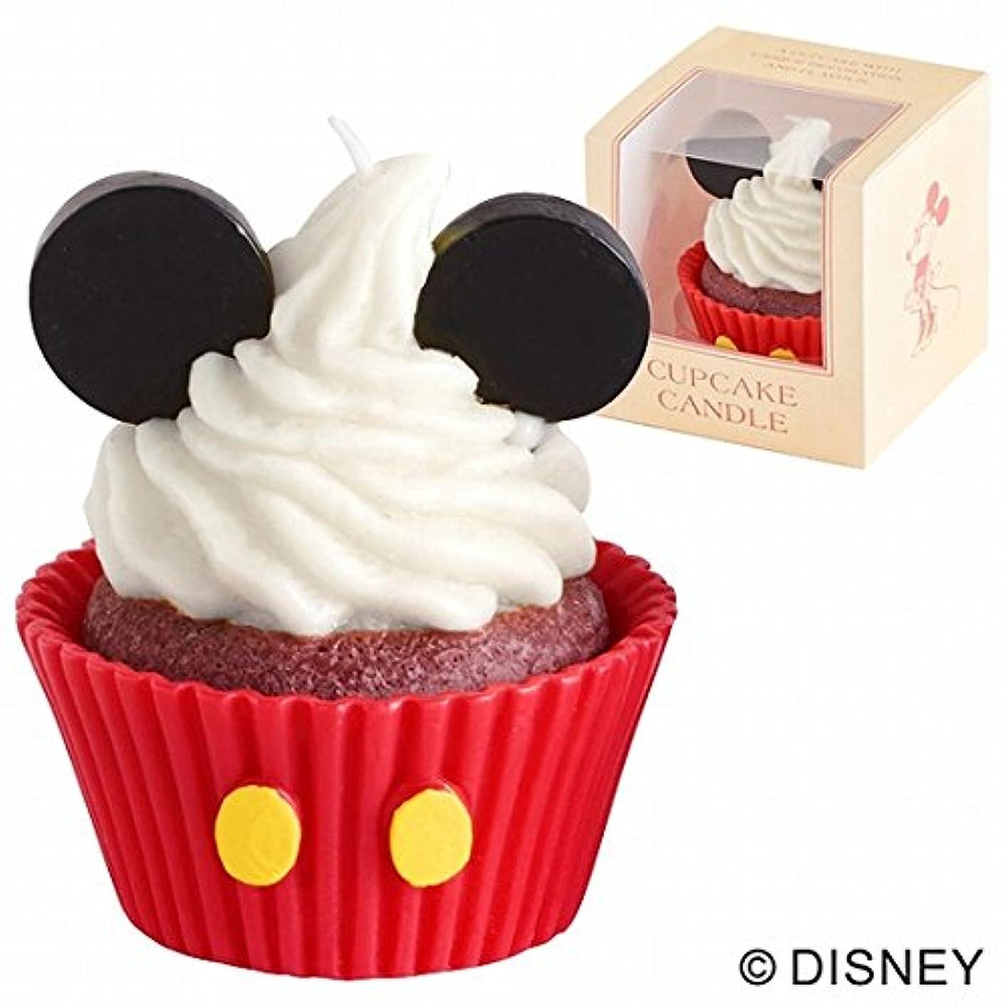 スクラップ確認するなめらかカメヤマキャンドル( kameyama candle ) ディズニーカップケーキキャンドル 「ミッキー」