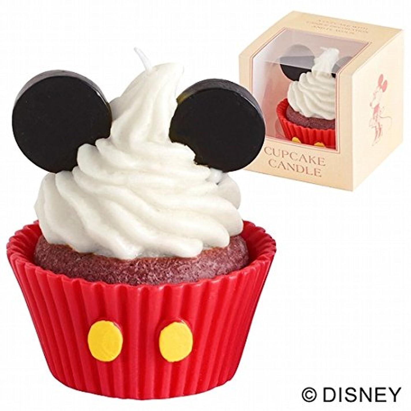 拳手がかり付添人カメヤマキャンドル( kameyama candle ) ディズニーカップケーキキャンドル 「ミッキー」