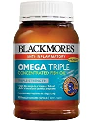 Blackmores Omega Triple Concentrated Fish oil 150 cap by Blackmores LTD
