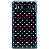 CaseMarket 【ポリカ型】 au AQUOS PHONE SERIE SHL21 ポリカーボネート素材 ハードケース [ レインボーハート 50S ]