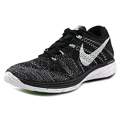 (ナイキ) Nike Flyknit Lunar 3 メンズ 米国 8 ブラック ランニングシューズ [並行輸入品]