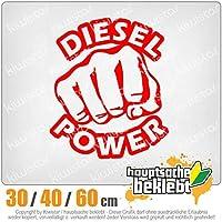 KIWISTAR - Diesel power strike fist 15色 - ネオン+クロム! ステッカービニールオートバイ