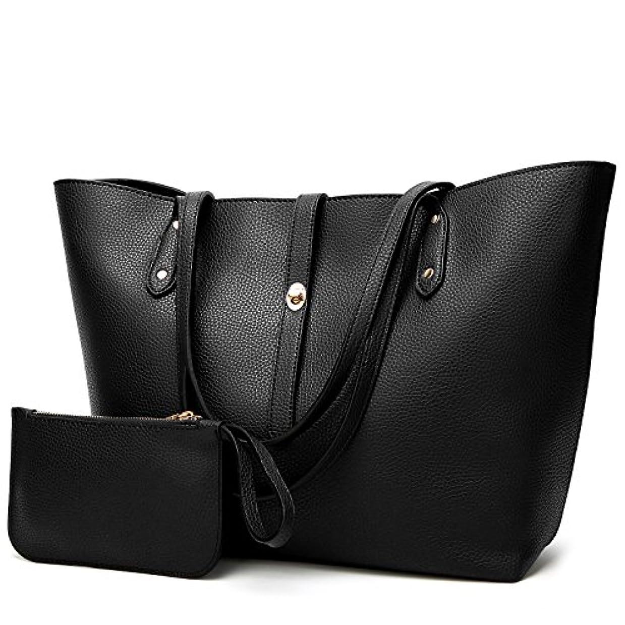 ターゲットバンジョー専門[TcIFE] ハンドバッグ レディース トートバッグ 大容量 無地 ショルダーバッグ 2way 財布とハンドバッグ