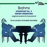 2台のピアノによるブラームス交響曲第3番