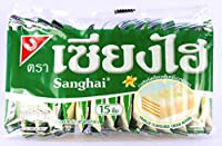 Shanghai Vanilla Flavoured Cream Wafer 90g.